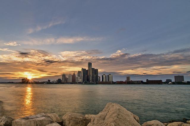 Панорама Детройта
