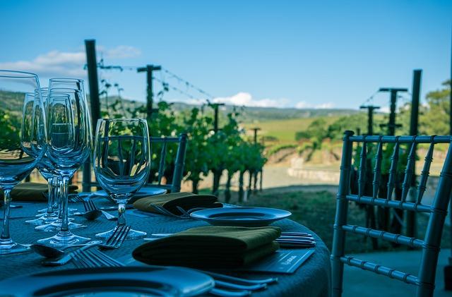 Винодельня в Долине Напа, Калифорнии