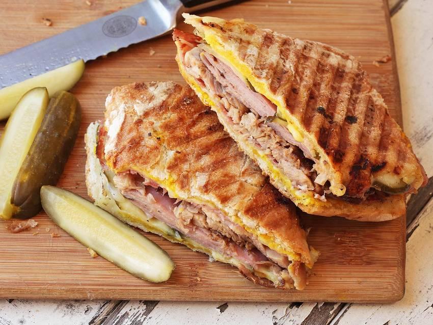 Кубинский сэндвич - традиционное блюдо для Майами