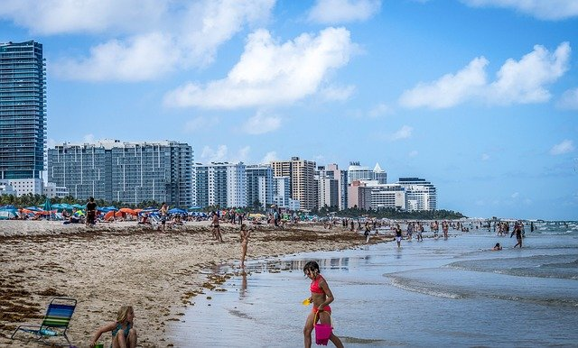 South Beach - пляж в Майами