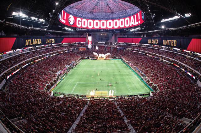 Стадион ФК Атланта Юнайтед в США