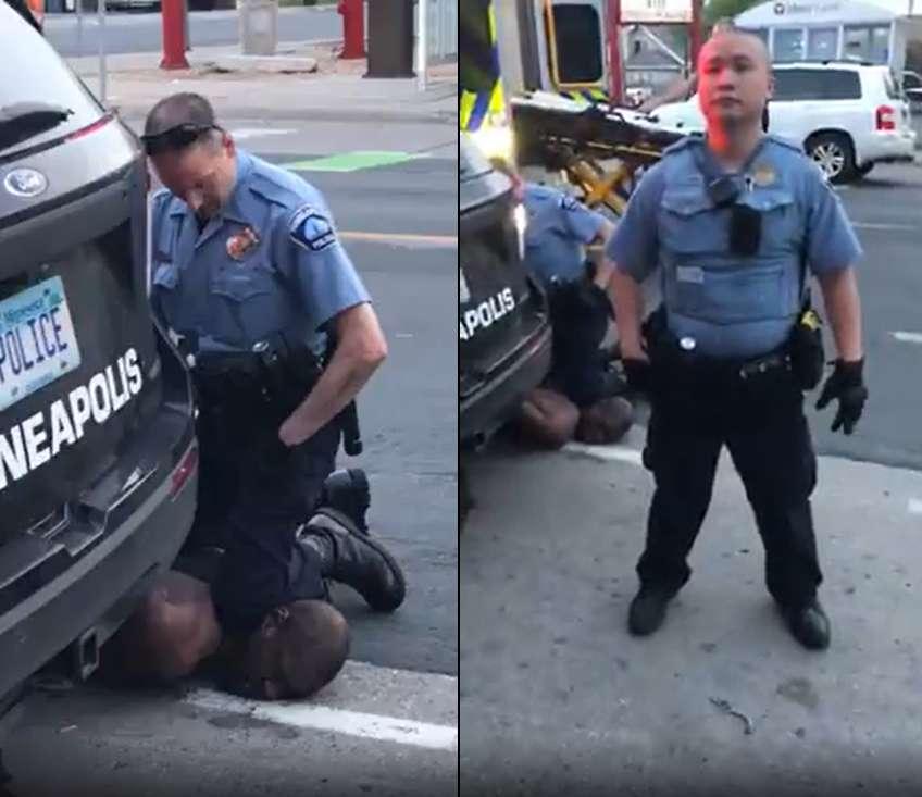 Убийство темнокожего в США полицейским